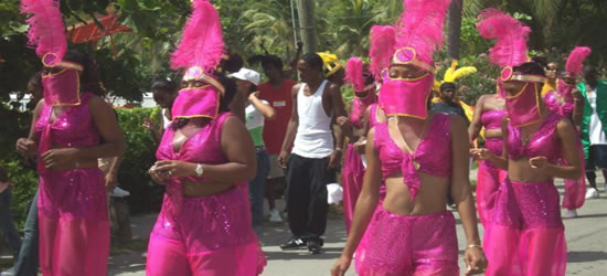St Johns Carnival, US Virgin Islands