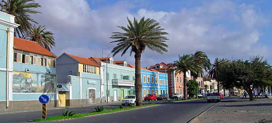 Colourful Streets of Sao Vicente