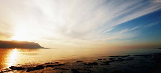 Sunrise, Sicily