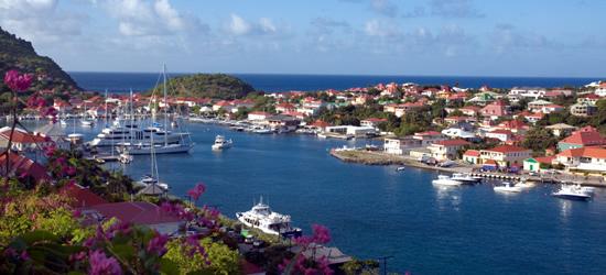 Gustavia Harbour, St Barths