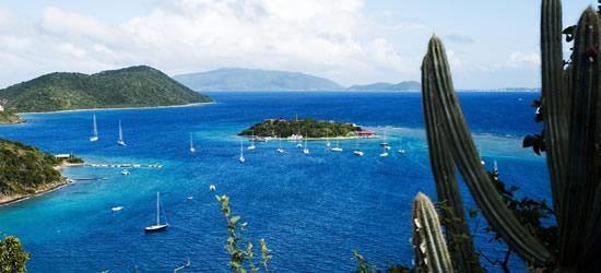 View to Marina Cay & Virgin Gorda