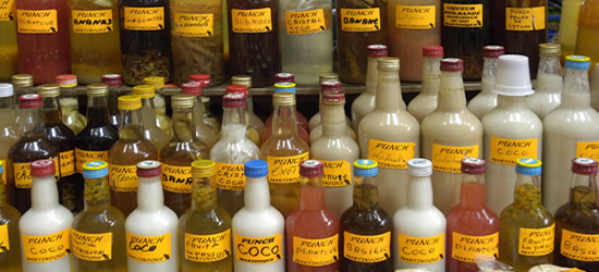Salsa's, Sauce's & Spice's at the Creole Market, Martinique