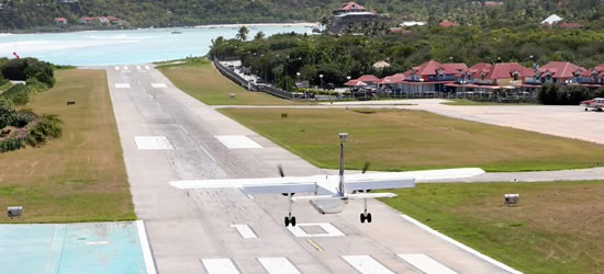 The Famous Short Runway, St Barths