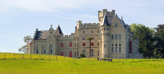 Chateau d'Abbadie, West Coast of France