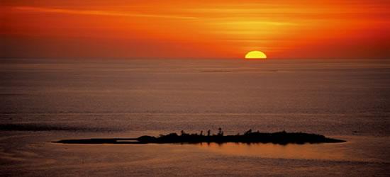 Sunset Ilot Brosse