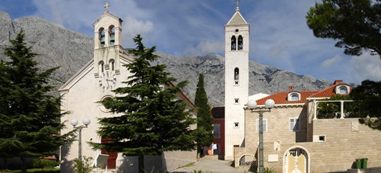 The Two Famous Churches of Baska Voda