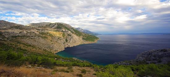 The rugged Coast of Makarska