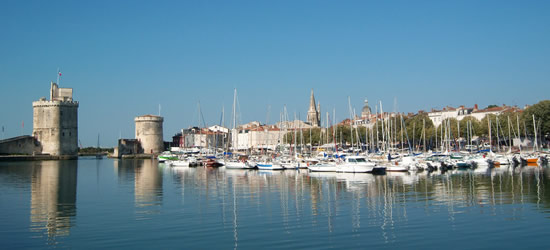 Spring Photo of the Harbour, La Rochelle