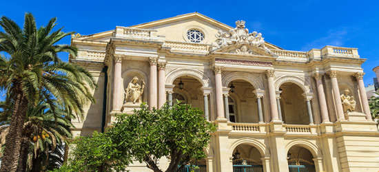Toulon Opera House, South of France