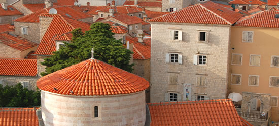 Red-Tiled Roofs of Budva