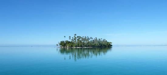 Remote Island off Raiatea
