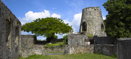 The Ruins of a Sugar Mill, US Virgins Islands