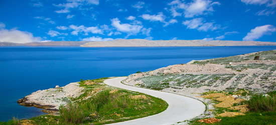 Coastal Road, Pag