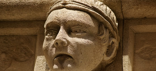 Face's of St Jacob's Cathedral, Sibenik