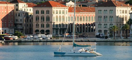 The Port of Split, Croatia