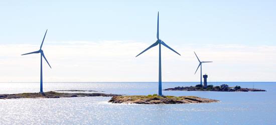 Wind Generators of the Aland Islands