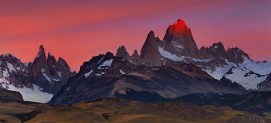 Mount Fitz Roy, Tierra del Fuego