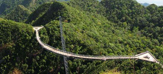 Hanging Bridge, Langkawi Rainforest