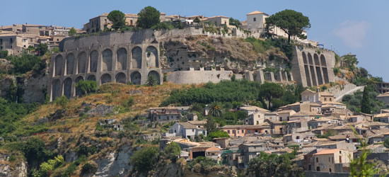 Gerace a Small Village quite close to Reggio Calabria