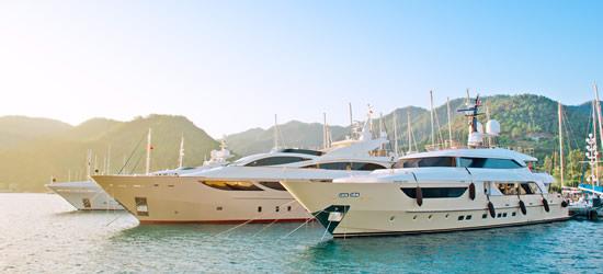 Mega Yachts of Fethiye