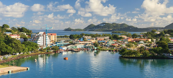 Castries Waterfront, St Lucia