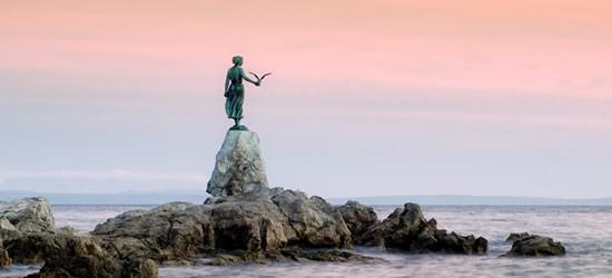 Historic Statue, Opatija
