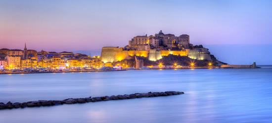 The City of Calvi, Corsica