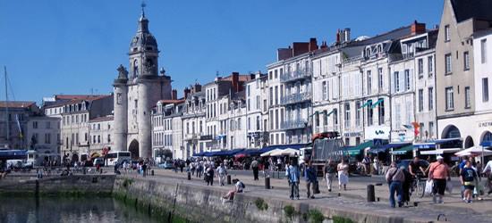La Rochelle, West Coast of France