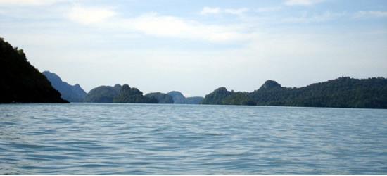 Seascape of Langkawi