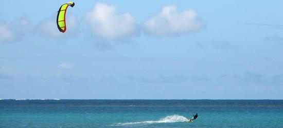 Kite Surfing, Mauritius