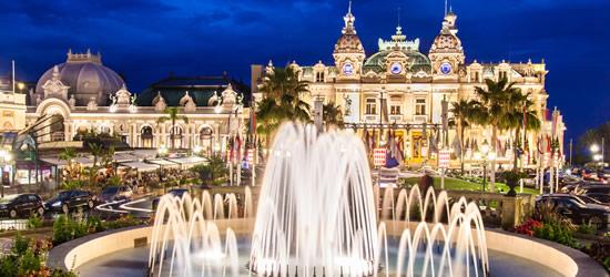 The Casino & Monte Carlo at Night