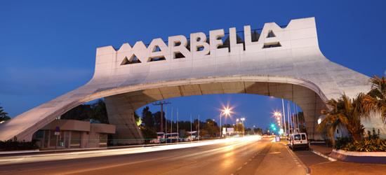 Eastern Entrance to Marbella
