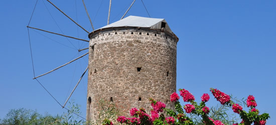 Historical Windmill, Near Datca