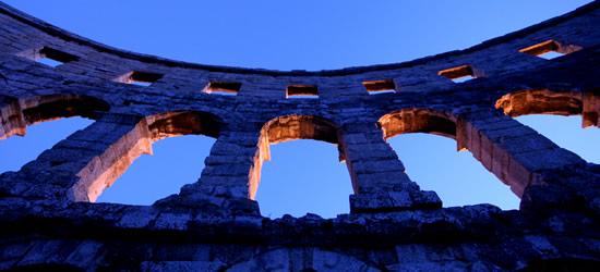 Roman Arches, Pula