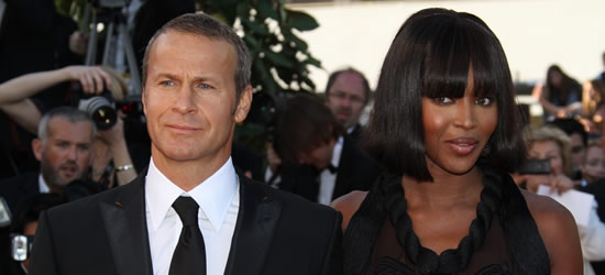Vladimr Doronin & Naomi Campbell, Cannes