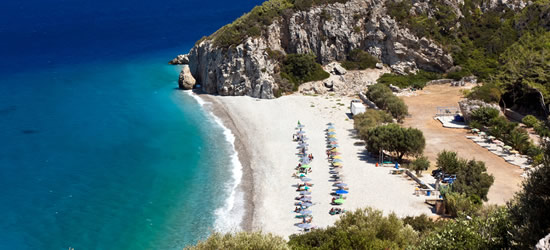 Tsambou Beach, Samos