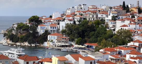 White-Washed Houses of Skiathos