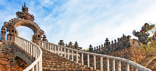 Stairway to a Temple, Bali