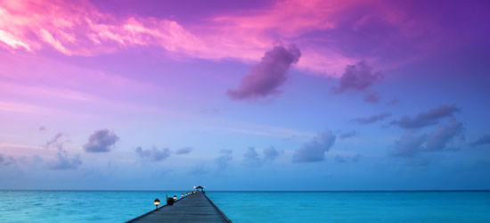 Violet Sunrise, Maldives