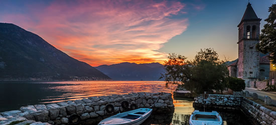 Sunset, Montenegro