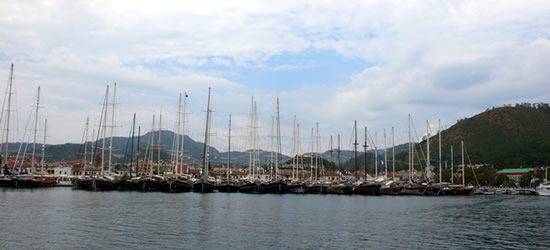 Marmaris Port, Turkey