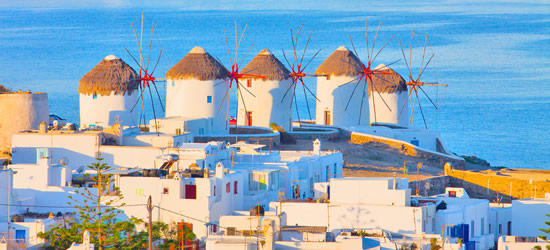 Windmill's of Mykonos