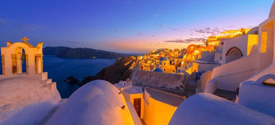 The Island of Santorini, Cyclades Islands