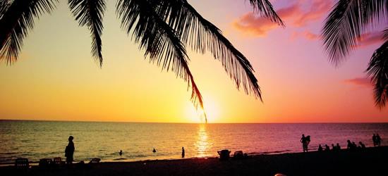 Pastel Coloured Sunset, Cuba
