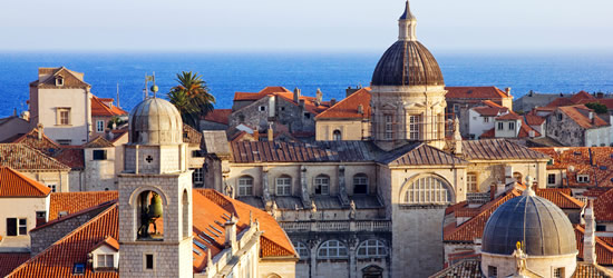 Red Tiled Roofs of Dubrovnik