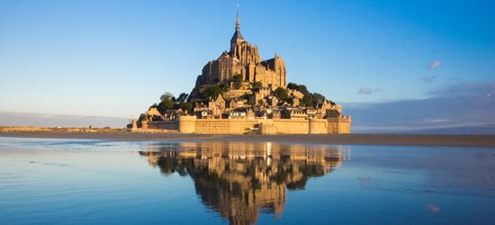 Mt Saint Michel, France