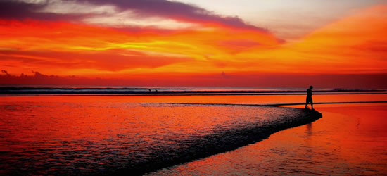 Under a Blood Red Sky, Bali