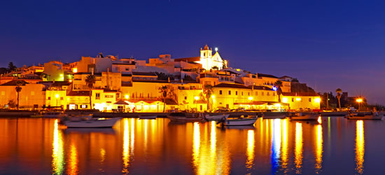 Ferragudo at Night