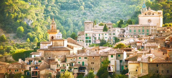 The Mountain Village of Valdemosa, Mallorca
