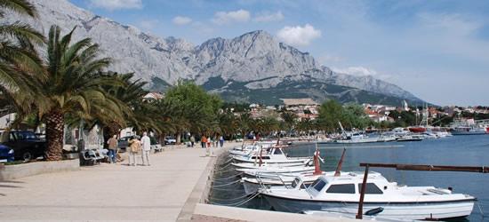 The Promenade and Small Yachts Pontoon, Baska Voda